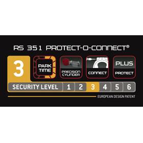 Trelock RS 351 Protect-O-Connect Rahmenschloss AZ Balloon ZR 20 schwarz